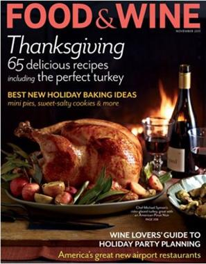 Food & Wine Magazine Subscription